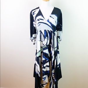 NEW Shakuhachi Asymmetric Hem Dress Size M